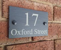 Decorating apartment door numbers pictures : Fantastic All Signs Address Signs Gift Ideas House Number Signs ...