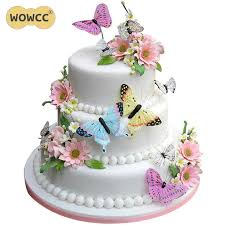 Detail Feedback Questions About 36pcs Mixed Butterfly Flowers Edible
