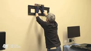 Tv wall mouns Swivel Harbor Freight How To Wall Mount Tv led Lcd Abt Electronics Youtube