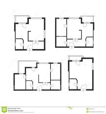architect furniture. Vector Furniture Architect Plan Of Building Set Stock - Illustration Indoors, Area: 53931544 T