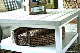 side table with baskets coffee table basket side table with baskets coffee table with baskets coffee oak coffee table wire