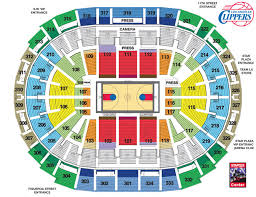 Staples Center Premier Seating Chart Staples Center Seating Chart Clippers View Www