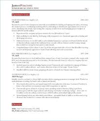 How To Write A Musical Resume Publicassets Us