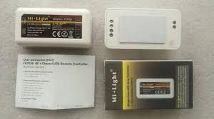 Mi Light Fut036 Fut036 Mi Light Rf 2 4ghz Wireless Wifi 4 Zone Remote