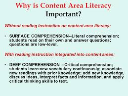 Critical Thinking Literacy is being taught through processes   processes for reading  comprehension  for thinking critically  and for making real world  connections  Vogt