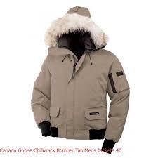 Canada Goose Jacket Black Canada Goose Chilliwack Bomber Tan Men s Jackets