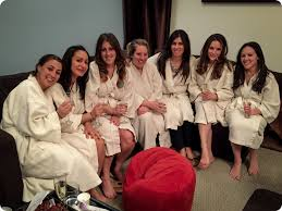 Image result for spa party friends smiling