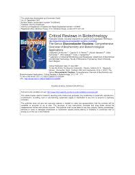 the genus gluconobacter oxydans comprehensive overview of  the genus gluconobacter oxydans comprehensive overview of biochemistry and biotechnological applications pdf available