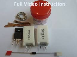 lg tv capacitor price. 7pc repair kit for lg 50pk350 dead standby power supply eay60968801 eax61392501 lg tv capacitor price