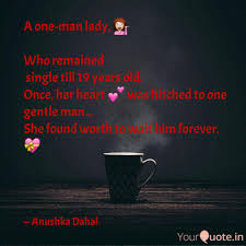 Lady Quotes Adorable A oneman lady 💁 Who r Quotes Writings by Anushqa Dahal