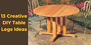 13 creative diy table legs ideas