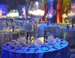 Centerpieces: I'm someone who appreciates a large wine glass so I love these