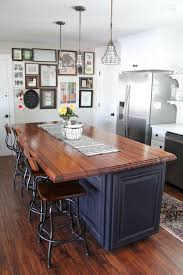 farm style kitchen island. butcher block hardwood countertops | wood countertops, modern farmhouse and farm style kitchen island