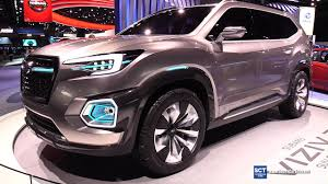 2018 subaru new suv. delighful subaru 2018 subaru viziv7 suv concept  exterior walkaround 2017 detroit auto  show youtube on subaru new suv