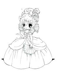 Chibi Coloring Page Cute Coloring Pages Cute Coloring Pages Cute
