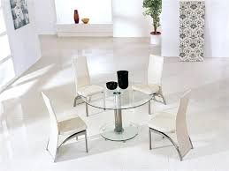narrow glass dining table small glass dining table set and 4 chairs