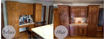 awesome breathtaking refinishing kitchen cabinets before and after refinishing oak kitchen cabinets wonderful walnut wood unfinished