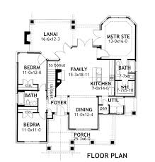 bungalow cottage craftsman tuscan house plan 65870 level one