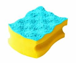 <b>Губка</b> для посуды <b>Vileda Pure</b> Colors 8,7х6,3х4,5см купить с ...