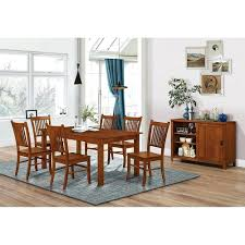 Broyhill Furniture Artisan Collection Mission Style Trestle Dining