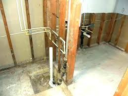 bathtub rough in plumbing basement bathtub rough plumbing