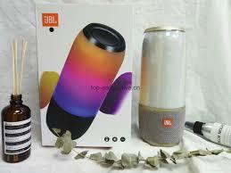 Jbl Pulse 3 Portable Bluetooth Splashproof Wireless Led