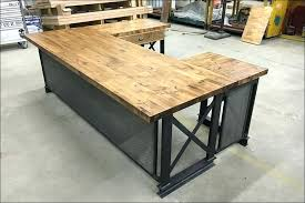 reclaimed wood office desk. Reclaimed Wood Desk Living Rustic Industrial Office Computer . I