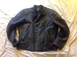 leather motorcycle jacket 42 vintage honda cbr badge 1 of 4 see more