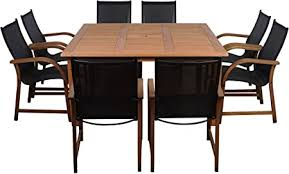Amazonia Bahamas 9 Piece Square Patio Dining Set ... - Amazon.com