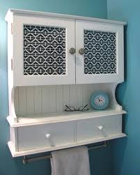 Black Bathroom Wall Cabinet With Glass Doors • Cabinet Doors