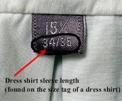 Size Chart Mens Wear Mybarong