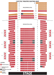 Mahaffey Seating Chart Seating Charts Ruth Eckerd Hall