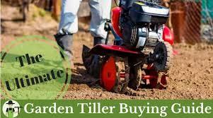 best garden tiller rear tine