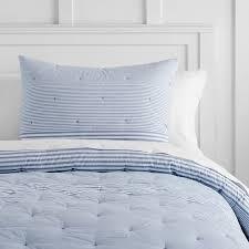 vintage stripe comforter sham