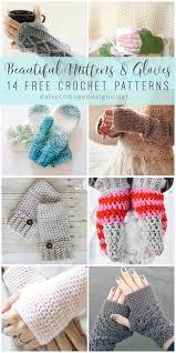 Free Crochet Mitten Patterns Fascinating Crochet Fingerless Gloves Mitten Crochet Patterns Daisy Cottage