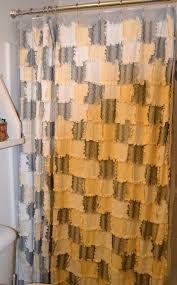 Reverse rag quilted shower curtain | Crafty - Quilt N Sew =D ... & Reverse rag quilted shower curtain Adamdwight.com