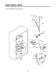 lg refrigerator parts diagram. your part is \ lg refrigerator parts diagram l