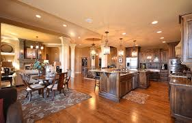 Open Kitchen Living Room Open Floor Plan Design Ideas For Homes Gucobacom