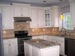 what color to paint kitchen with white cabinets and brown