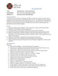 sound engineer resume software engineer sound engineer resume 3401