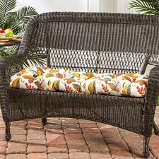 garden bench Replacement Cushions For Wicker Furniture