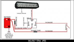 wiring diagram for cree led light bar wiring diagram for cree how to wire up 2 cree led 36w light bars jeep wrangler forum