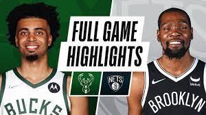 Game Recap: Nets 119, Bucks 115 - YouTube