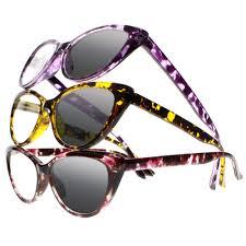 Designer Sun Readers Amazon Com Women Small Cat Eye Designer Sun Readers