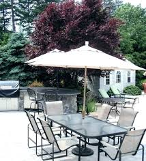 small patio table with umbrella hole furniture medium size of ideas round set cover