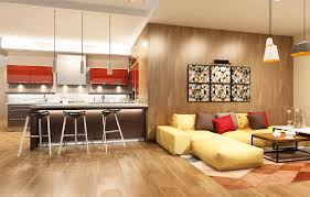Kitchen Sitting Room Image Kitchen Living Room 3d Graphics Interior Lamp Sofa Table