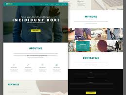 Free Website Design Templates Magnificent 48 Free High Quality Website Template PSDs To Download