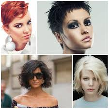 Short Messy Hairstyle Trends 2017 Haircuts And Hairstyles For