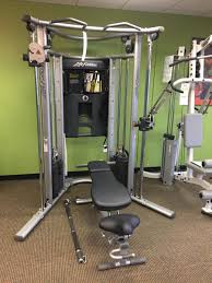 Life Fitness Used Home Gym G7 With Bench Schellers