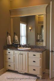 Bathroom Mirror Frame 17 Best Ideas About Frame Bathroom Mirrors On Pinterest Framed